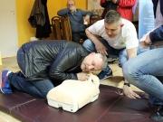 Przeszkoleni z pierwszej pomocy