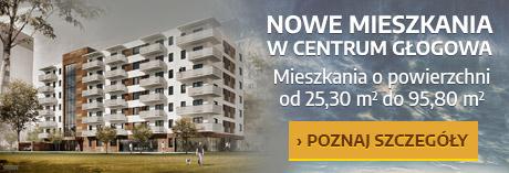 Nowe mieszkania w Głogowie