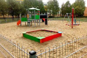 Nowy plac zabaw przy ul. Dobrawy