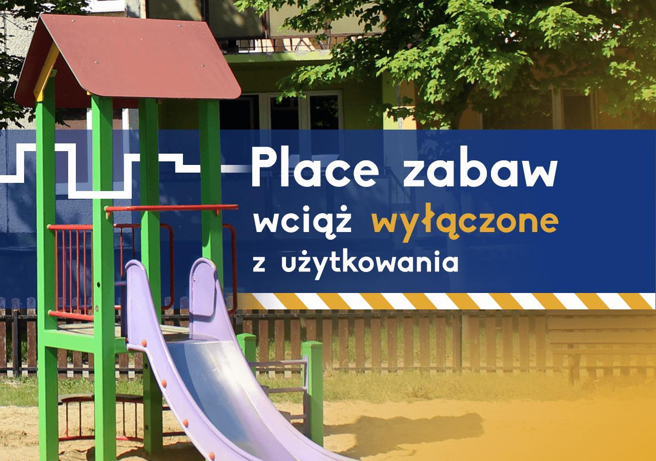 Place zabaw w Głogowie wciąż wyłączone z użytkowania