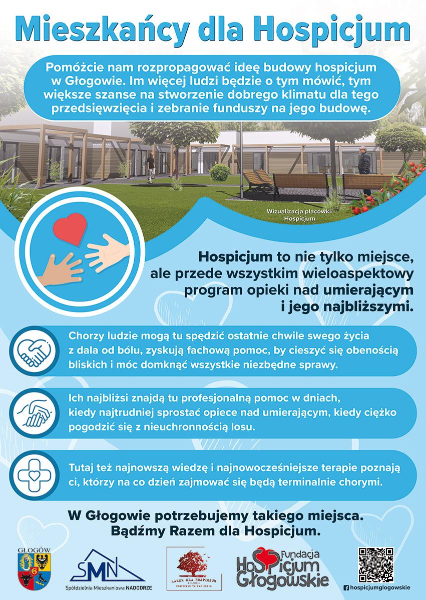 Wspieramy budowę Hospicjum w Głogowie
